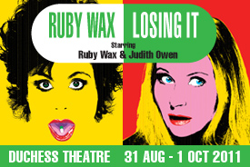 LOSING IT at the Duchess Theatre 31 August to 1 October