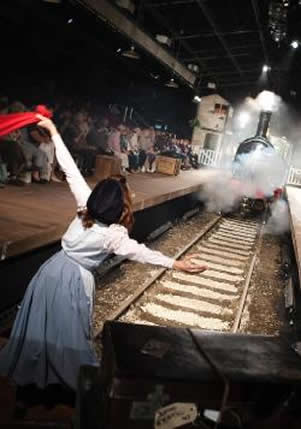 The Railway Children Live at Waterloo Station from until 2nd January 2011